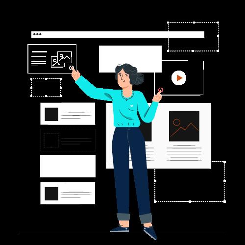 créateurs de contenu web
