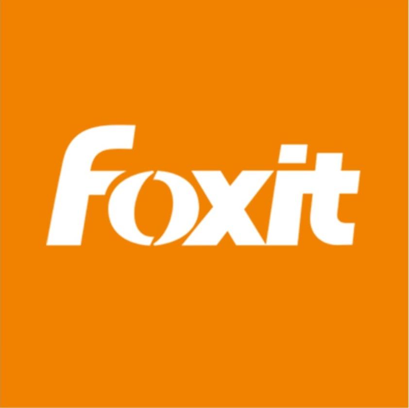 Modifier un PDF - Foxit