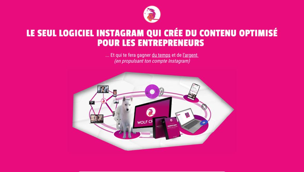 Wolf Creator gérer ton compte instagram